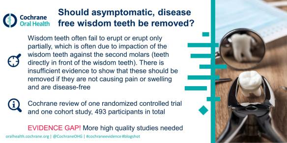 0039 Asymptomatic wisdom teeth